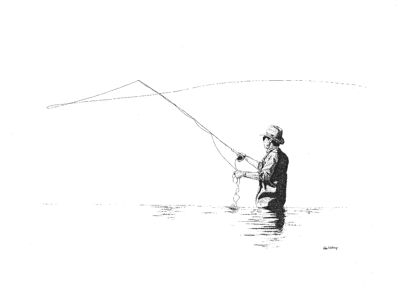 Fly fishing fly drawings - photo#1